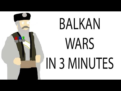 Balkan Wars | 3 Minute History