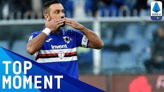 Quagliarella Ends Drought with First Home Goal in 8 Months! | Sampdoria 5-1 Brescia | Serie A TIM