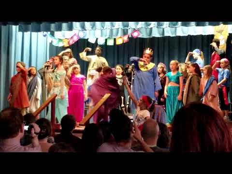 Aladdin by Disney, Kaley Lake Como Elementary School