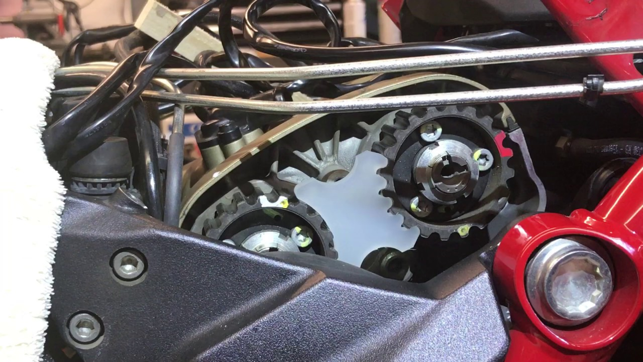 Ducati Multistrada Testastretta Cam pulley lock tool