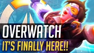OVERWATCH LAUNCH EVENT! - Squadron Launch Party & Gameplay!