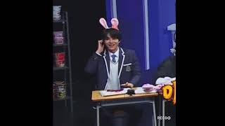 [NCT 정우] 토끼머리띠 정우