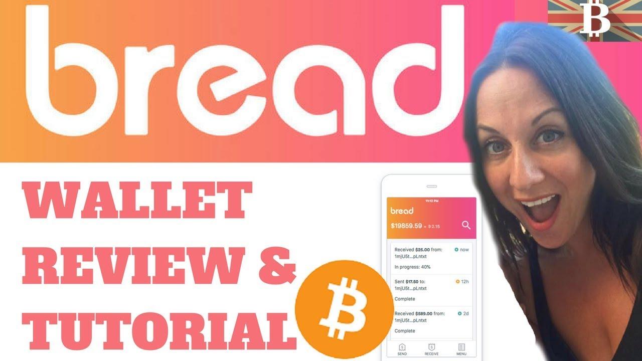 Bread Wallet: Bitcoin Mobile Wallet Tutorial & Review (2017)