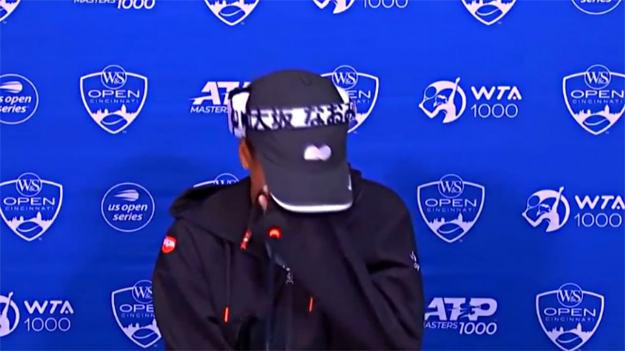 Naomi Osaka breaks down into tears after question at Ohio press ...