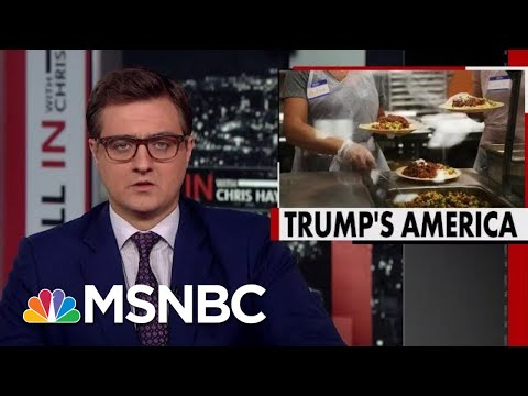 Trump Administration To Kick Nearly 700,000 Off Food Stamps | All In | MSNBC