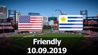 USA vs Uruguay - International Friendly - PES 2019