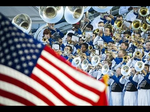 The Largest Marching Band in America performs