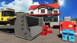 EXTREME HOME REMODELING JOB IN LEGO CITY! - Brick Rigs Roleplay Gameplay - Lego Jobs Movie