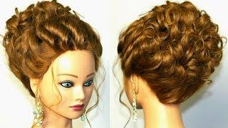 Красивые Прически На Средние Волосы Самой Себе - YouTube