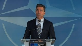 NATO chief says Russia threatens Europe