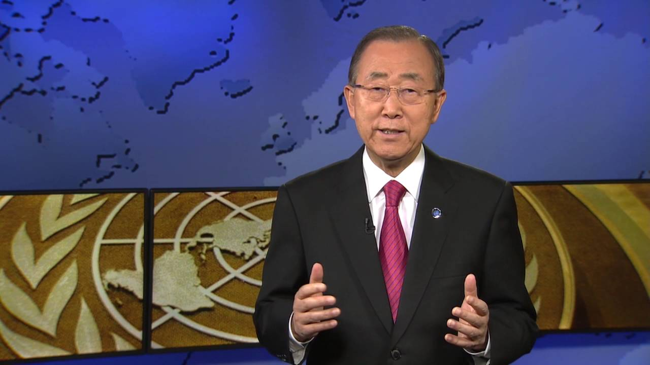 Ban Ki-moon (UN Secretary-General) on India's Ratification of the Paris Agreement