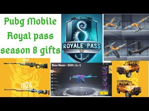 Pubg Mobile Royal pass season 8 gifts || 0 13 5 update changes||
