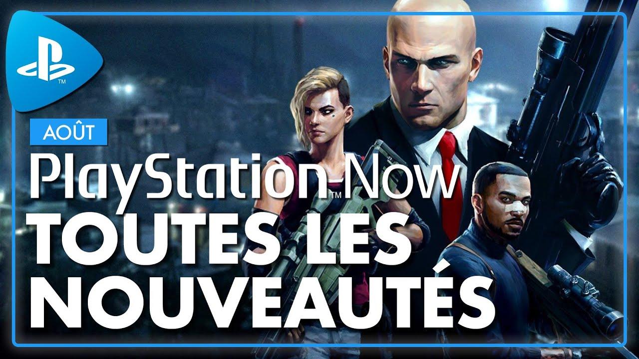 PLAYSTATION NOW : Les NOUVEAUX JEUX du mois d'AOUT sur le PS Now