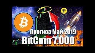 BITCOIN 7000$ Прогноз Курса Биткоина Май 2019