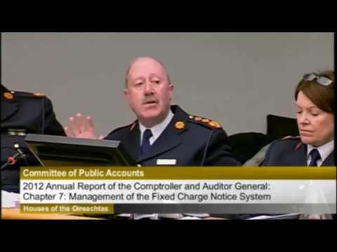 """Garda commissioner's """"Disgusting"""" Remarks to Shane Ross"""