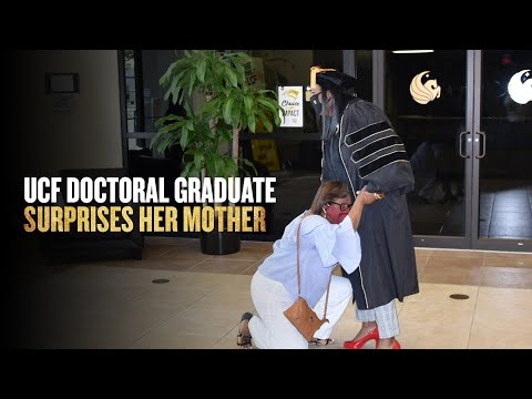 Feed image for UCF Grad Surprises Mother with Doctoral Degree