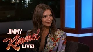 Emily Ratajkowski Apologizes for Dissing Jimmy Kimmel's Mom