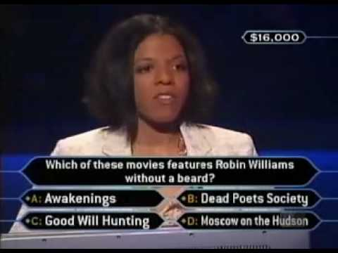 Maria Cunningham on Who Wants To Be A Millionaire ...