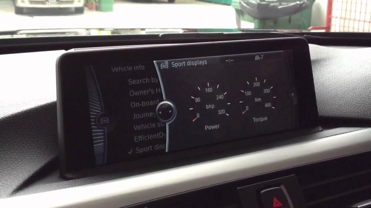 F30 Bmw 328i Sport Display Youtube