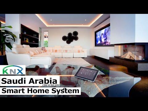KNX/EIB Smart Home System Demo For Your Villa now in Saudi Arabia