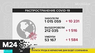 Количество заболевших COVID-19 в мире превысило миллион человек - Москва 24
