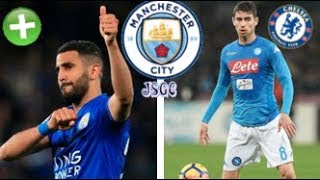 Mahrez Medical + Jorginho To Chelsea? | Man City Transfer Update #34