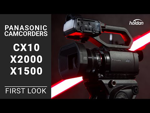 Panasonic 4K60P Professional Camcorders AG-CX10, HC-X2000, HC-X1500 | First Look And Comparison