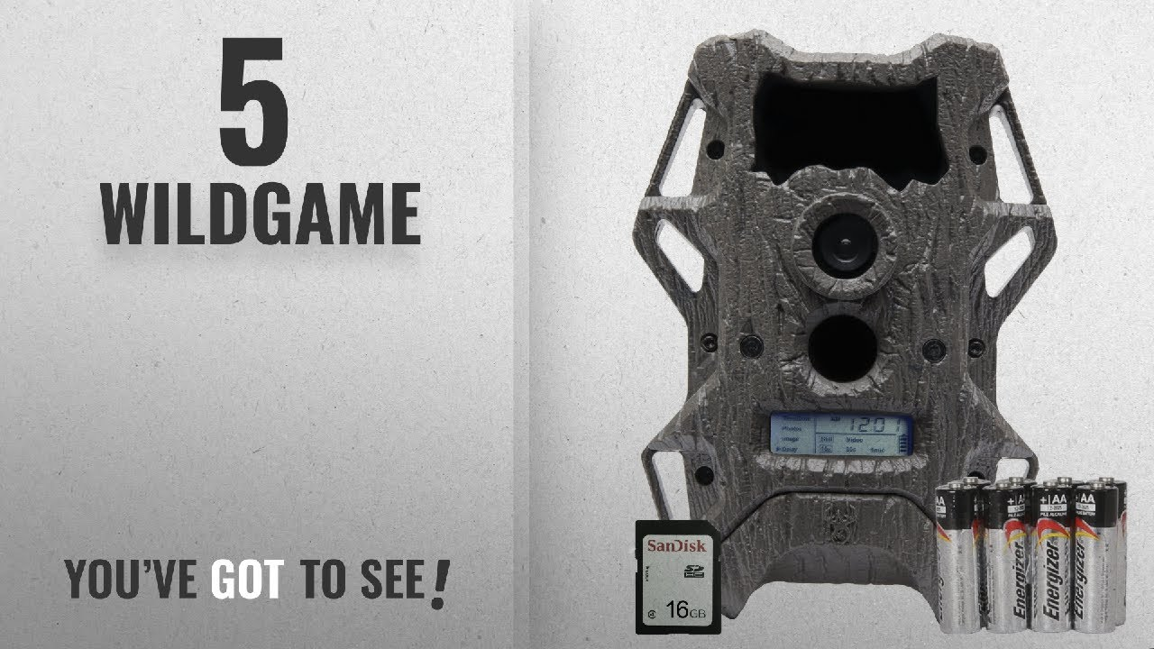 Top 10 Wildgame [2018]: Wildgame Innovations Cloak Pro 12 Invisible Flash with Batteries & SD Card,