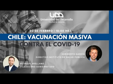 Chile: Vacunación masiva contra el Covid-19