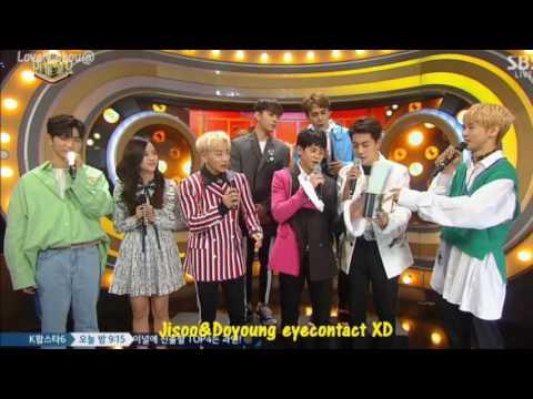 MC Jisoo Interaction with Boy Groups 💙