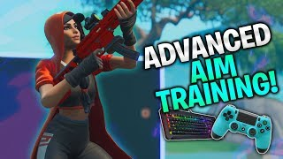 *NEW* Advanced Aim Training! Improve your Aim! (Fortnite PC, Console, Mobile)