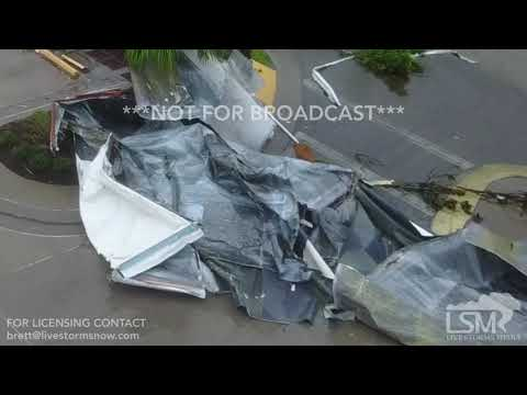 9-10-2017 Naples, FL - Irma Eyewall and Aerial Destruction