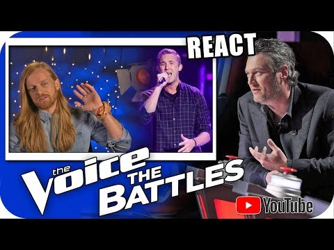 BLAKE SHELTON ACERTOU? The Voice 2018 Battle Wilkes vs Jordan Kirkdorffer Country Music