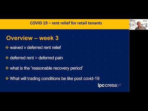 Retail leasing: COVID-19 weekly health check | 15 April 2020