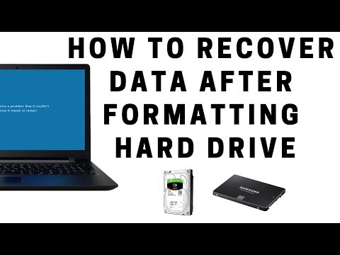 How To Recover Data After Formatting Hard Drive