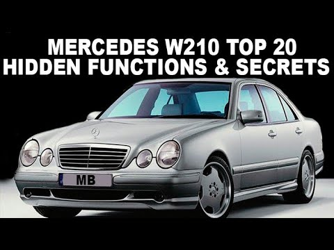 Mercedes-Benz W210 Top 20 Hidden Functions, Secrets and Useful Tips /  Selection of W210 secrets