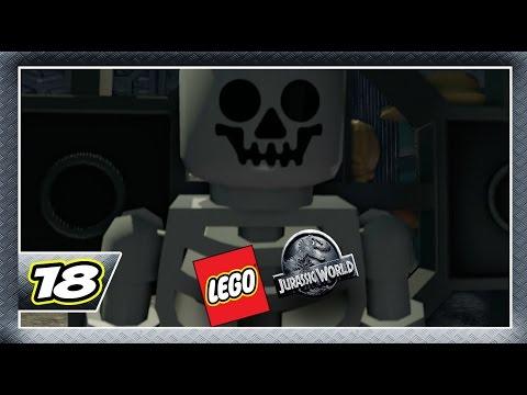 Lego Jurassic World - Detonado Parte 18 - Onde Nascem os Dinos!! [Dublado PT-BR]