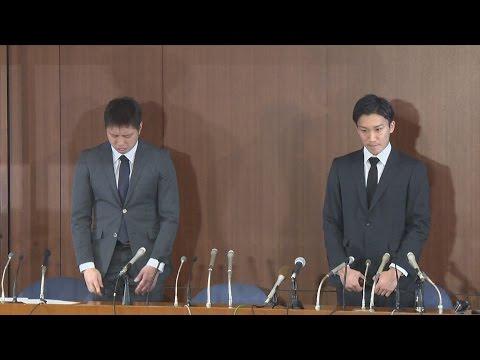 桃田・田児両選手が謝罪 バドミントン、違法賭博で