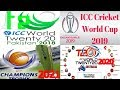 ICC Events World Cup 2019 & 2023 | World T20 2018 & 2020 Schedule, Teams, Host & News