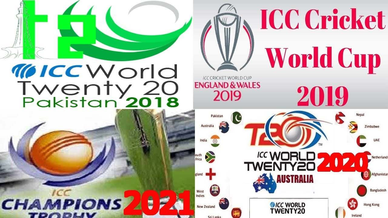 Icc Events World Cup 2019 2023 World T20 2018 2020 Schedule Teams Host News
