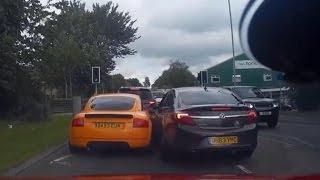 Audi TT Vs Vauxhall Insignia Road Rage