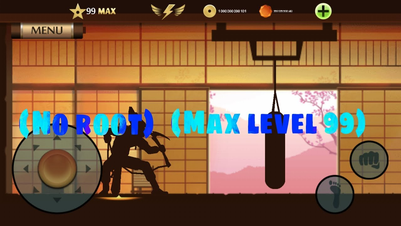 shadow fight 2 hack level 99 download