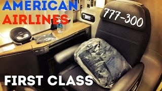 American Airlines First Class, Boeing 777-300ER Flagship Trip Report