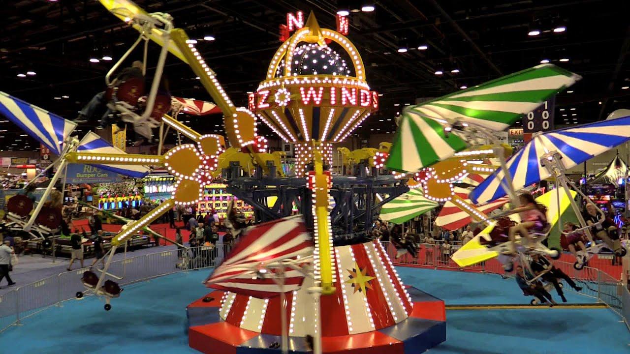 Windstarz At Iaapa Off Ride Hd 60fps Zamperla Youtube