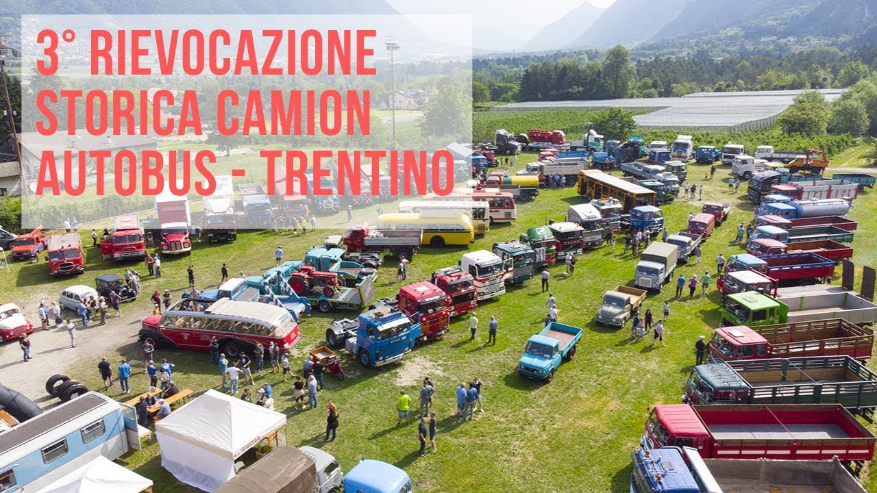 3° RIEVOCAZIONE STORICA CAMION AUTOBUS | TRENTINO | 9 ...