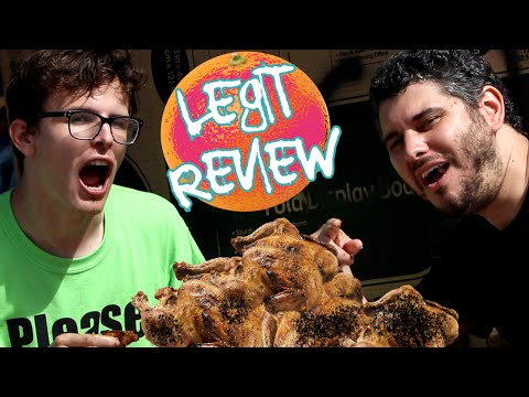 LEGIT FOOD REVIEW - Dumpster Chicken (Ft. H3H3)