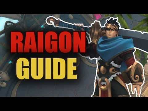 видео: battlerite - raigon guide / Бустимся пока не понерфили [patch 0.11]