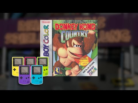 Gameplay : Donkey Kong Country [Gameboy Color]