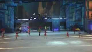 """Ледовое шоу """"Огни большого города""""Сочи Олимпийский парк"""""""
