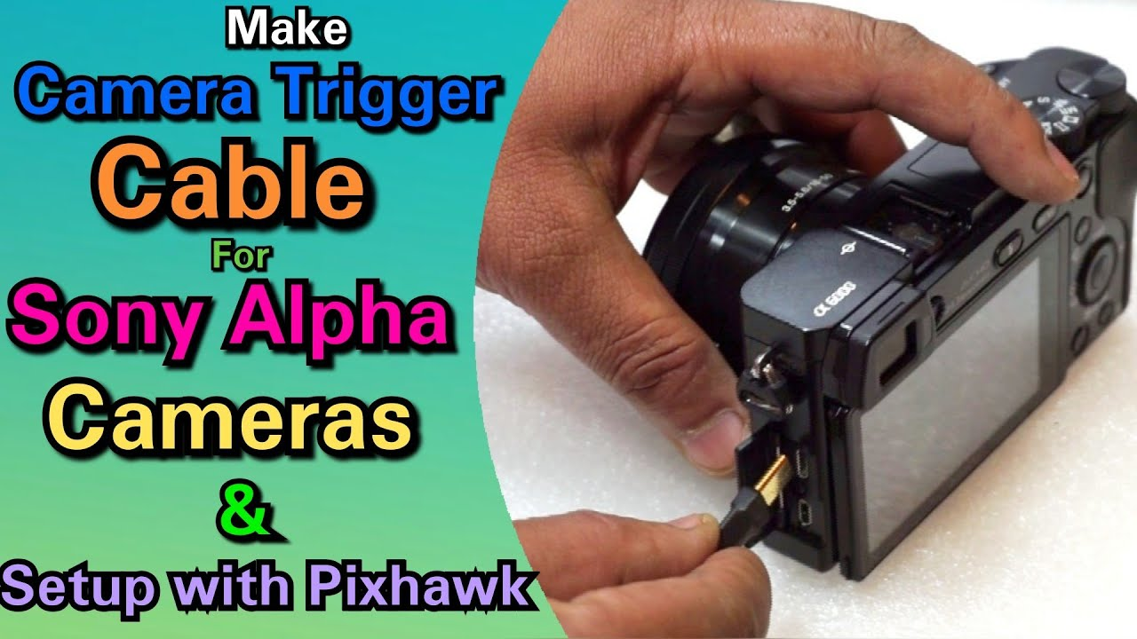 Make Camera Trigger Cable For Sony Alpha Series Cameras And Setup Micro Usb 7 Pin Wiring Schematic Pixhawk